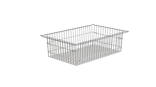 STAINLESS STEEL WIRED BASKET ISO 600x400x185mm