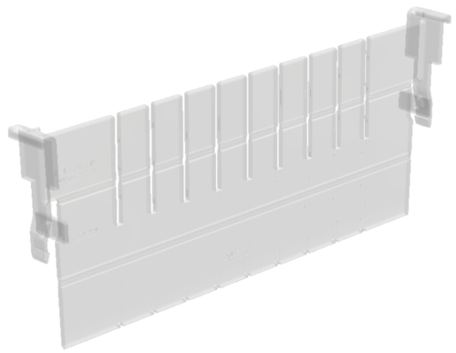 FLEXMODUL-DIVIDER PC 450x100mm